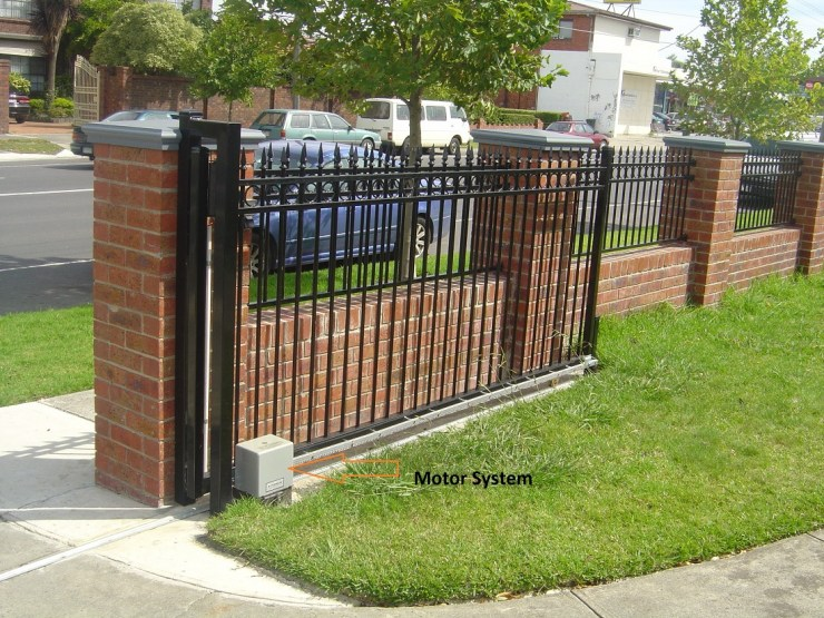 automatic-sliding-gate-remote-metal